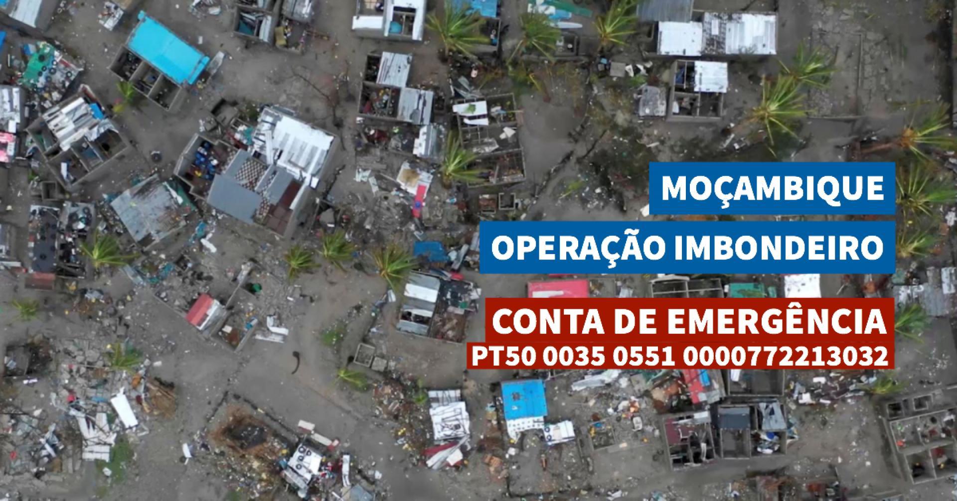 Ajude-nos a ajudar Moçambique